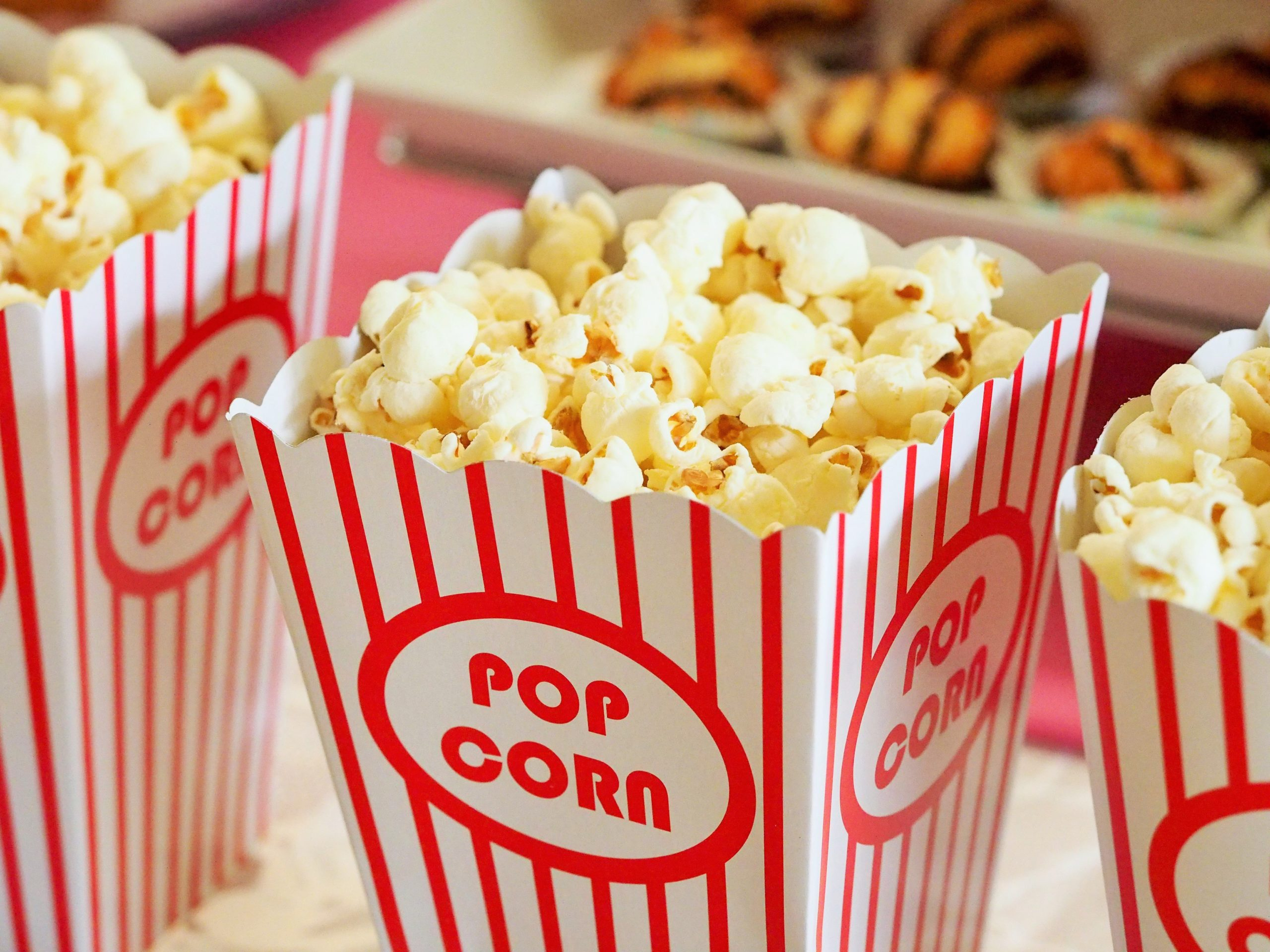 Popcorn im Kino