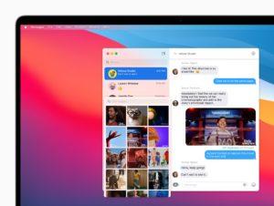 Nachrichten-App in macOS Big Sur