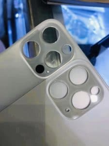 Vermeintliche Rückseite des iPhone 12 Pro und Pro Max mit LiDAR-Scanner