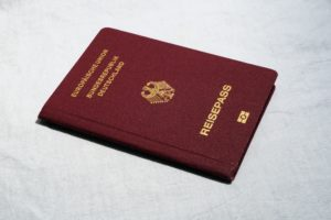 Reisepass als Ausweisdokument