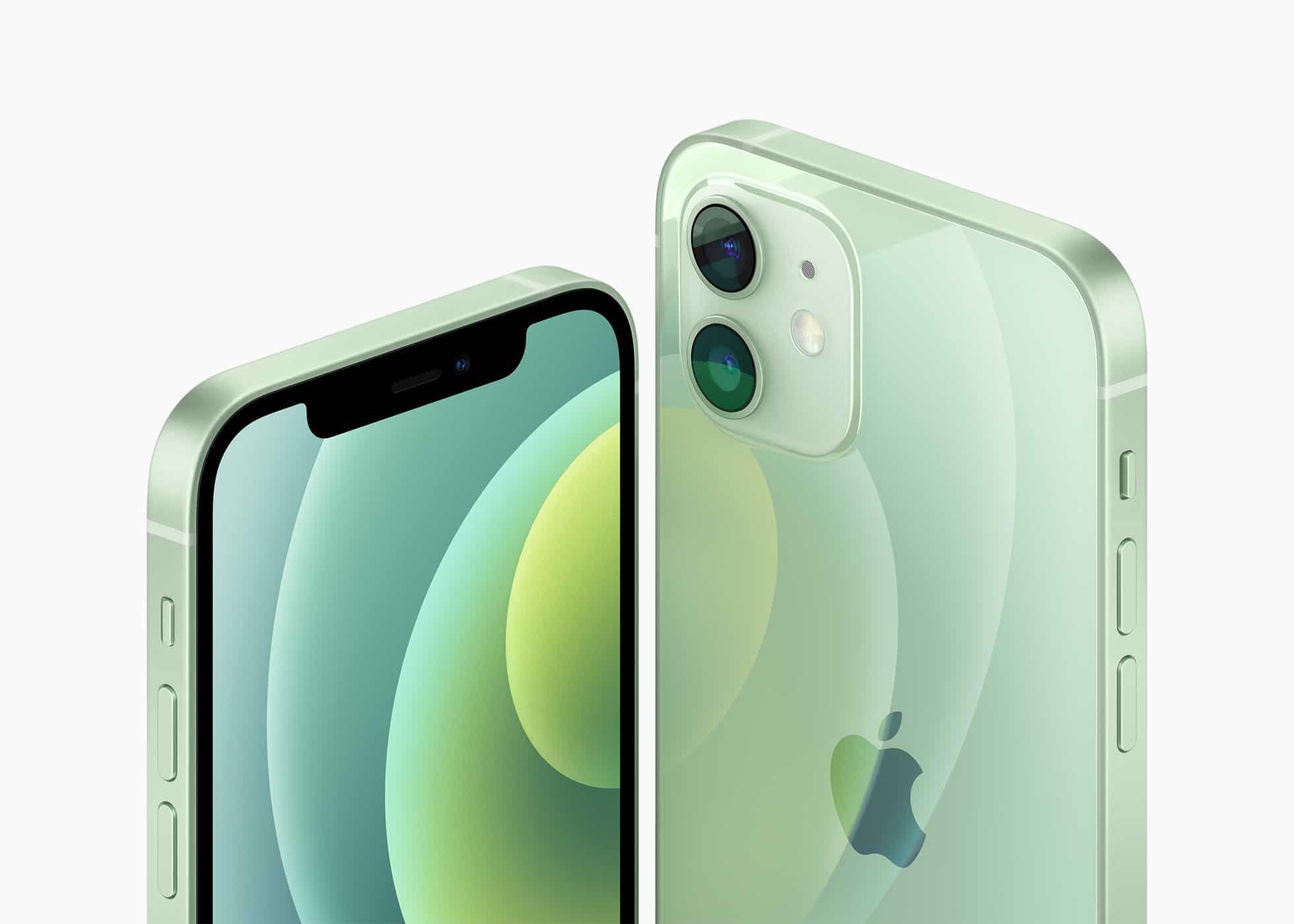 iPhone 12 in Grün
