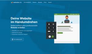 Webador Homepage-Baukasten