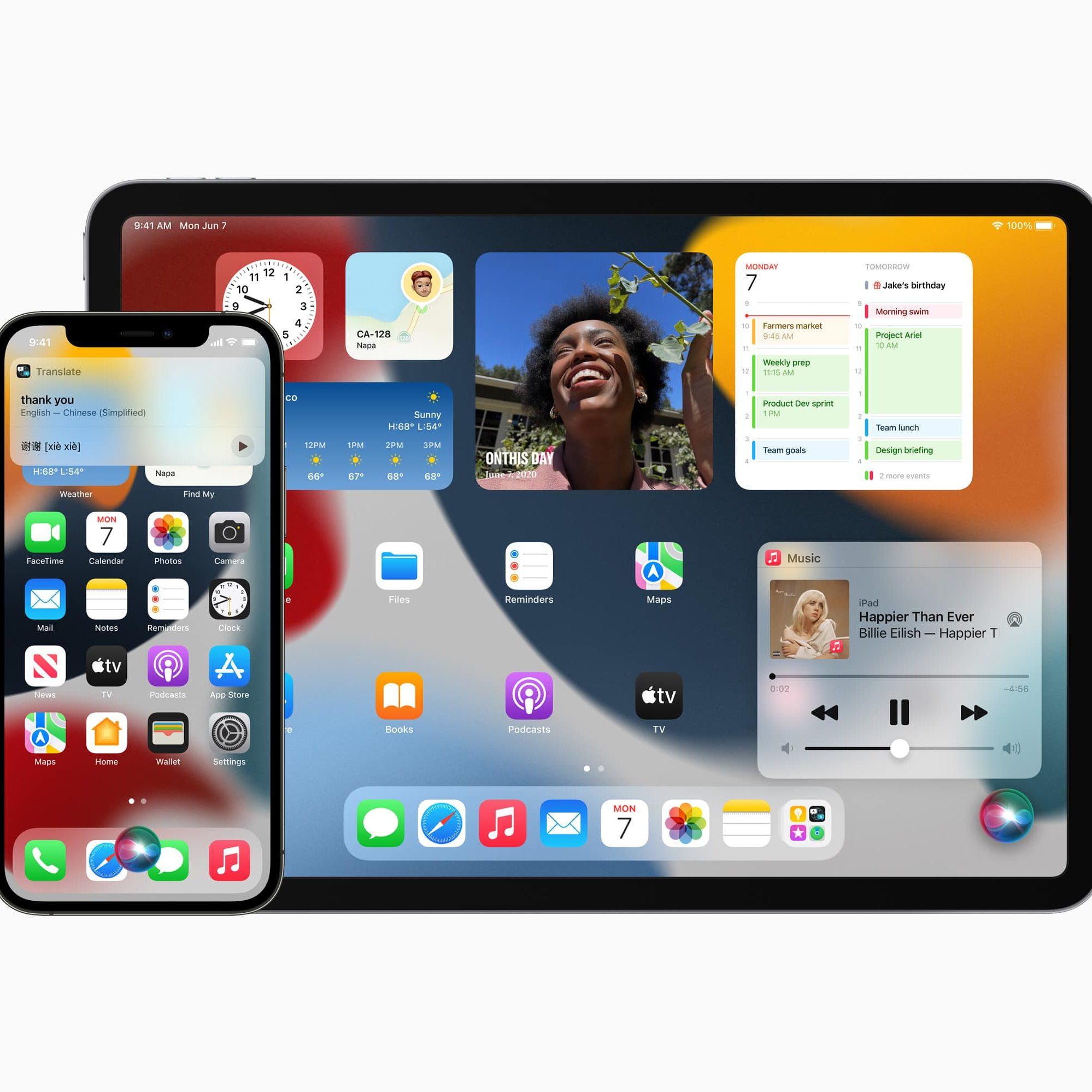 iOS 15 und iPadOS 15 von Apple veröffentlicht
