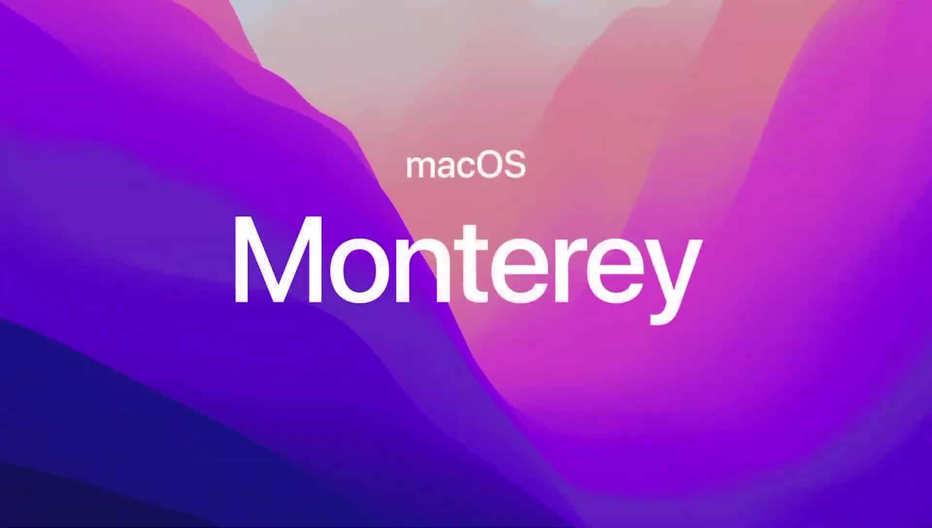 macOS 12 Monterey Beta 4 von Apple