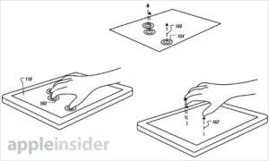 Patentzeichnung zu 3D-Gesten