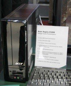 Acer Aspire mit 8,5 Liter Fassungsvermögen