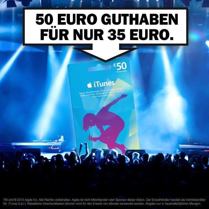 Media Markt-Aktion: iTunes-Karten günstiger