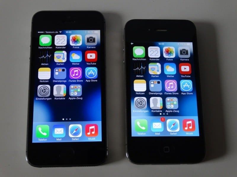 iPhone 5S und iPhone 4S