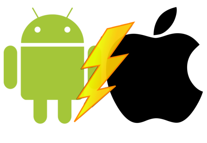 Android vs. Apple (iOS)
