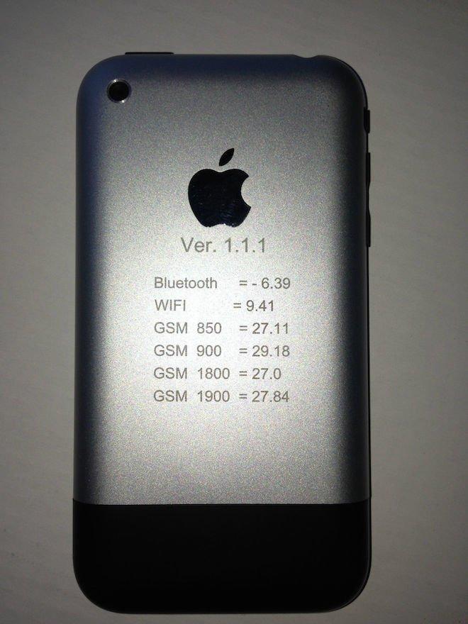 Angeblicher iPhone-Prototyp, Foto: applefancollector