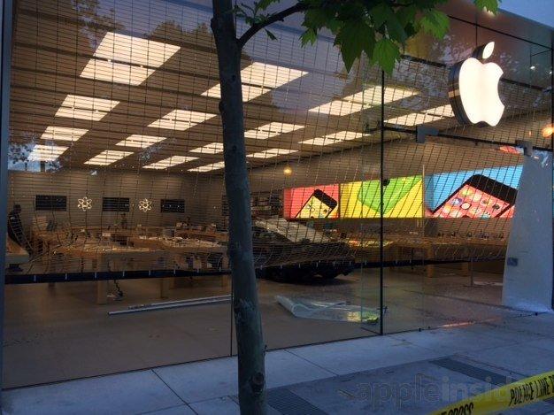 Apple Store Einbruch