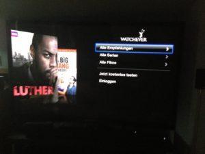 Apple TV & Watchever
