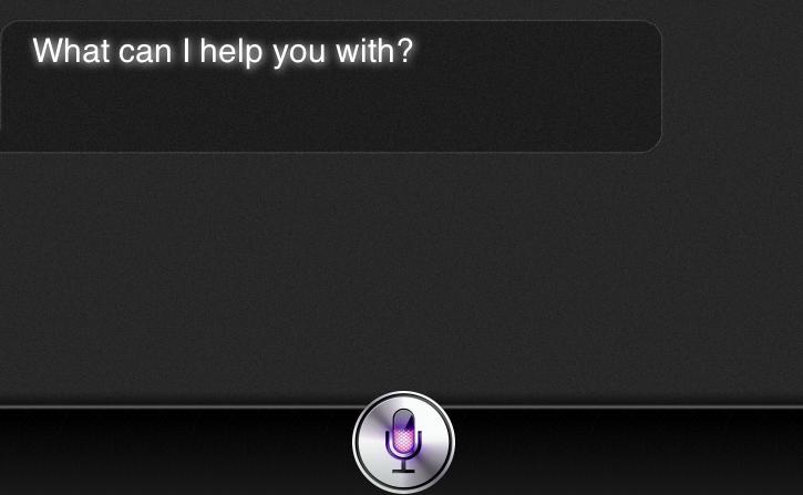 Webseite simuliert Siri – Screenshot