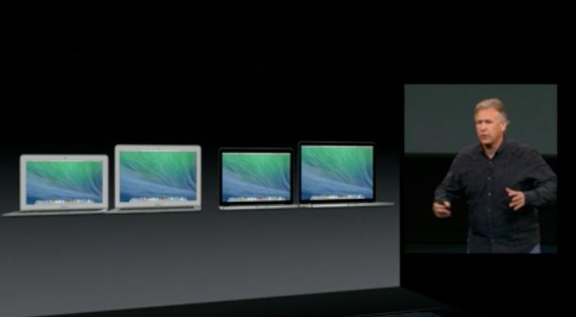 Apple-Keynote: MacBook Air vs. MacBook Pro