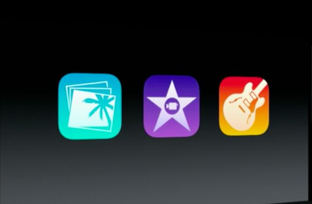 Die neuen Versionen von iPhoto, iMovie und GarageBand