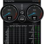 Disk Speed Test Brinell drive SSD 500 GB