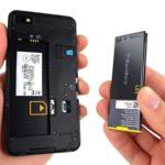 BlackBerry Z10 austauschbare Batterie