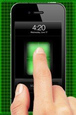 Fingerabdruck-Scanner iPhone