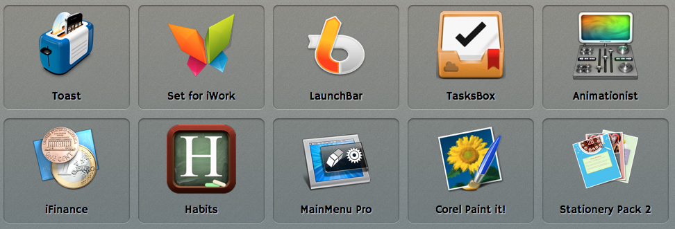 Spring 2013 Mac Bundle