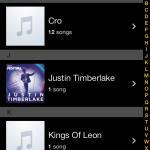 Genius App - Songs aus der Music App