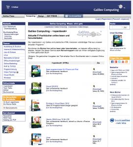 Galileo Openbook