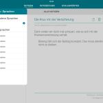 SwiftKey Note - Sprachen