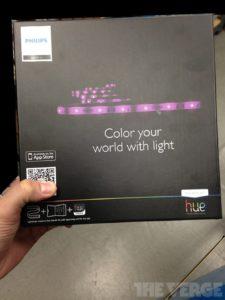 Philips Hue: LED-Leuchtstreifen, Foto: The Verge