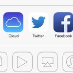 iOS-7-Beta-5: Twitter-Symbol
