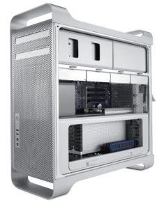 Apple Mac Pro - Seitenansicht