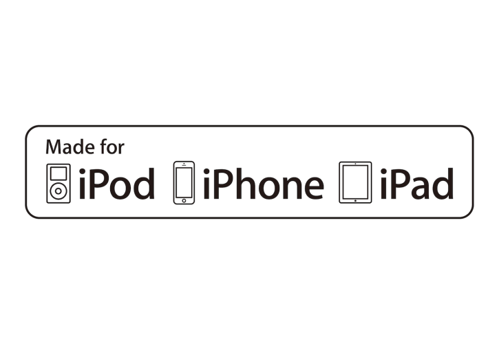 Made for iPod, iPhone, iPad