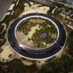 Modell Apple Campus 2 Hauptgebäude von oben, Foto: Dai Sugano, Bay Area News Group