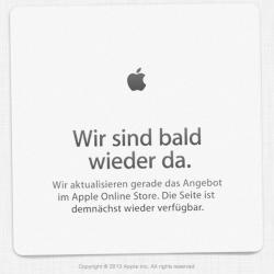Apple Store ist nicht erreichbar: Neuer iMac 2014 soll kommen