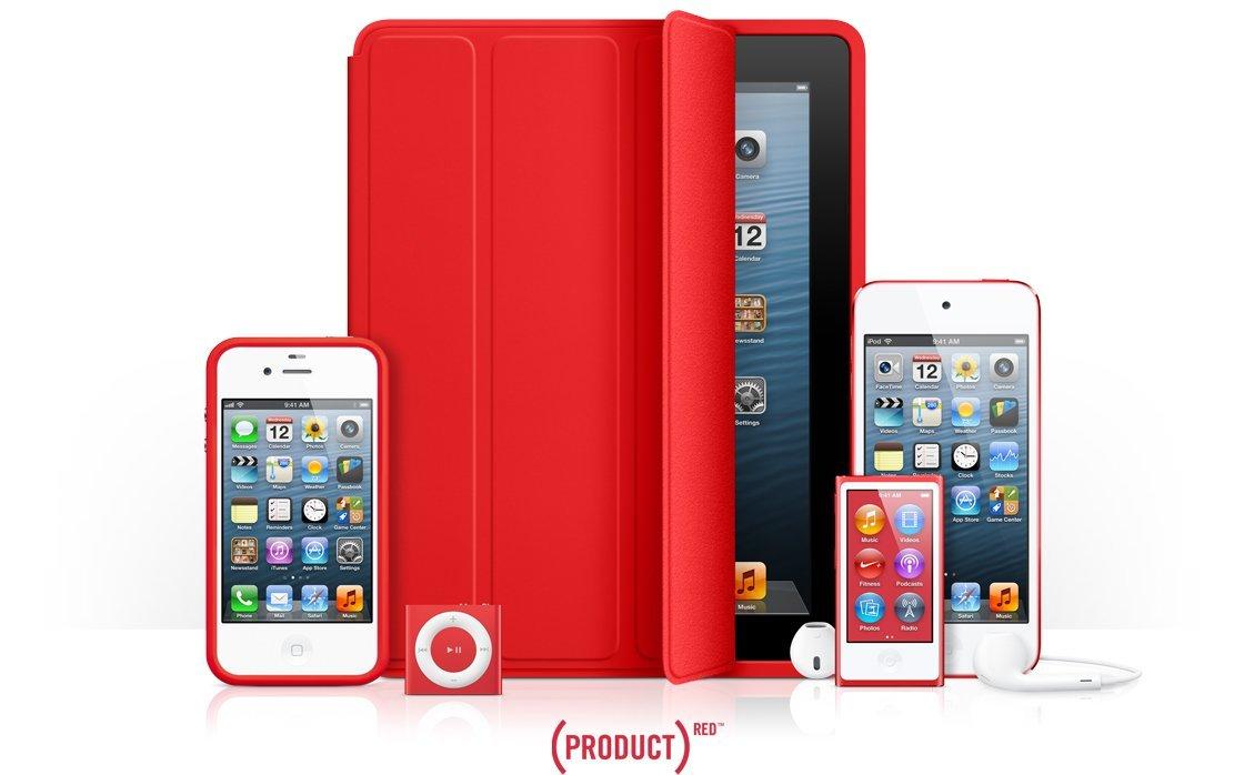 Product(RED) Produkte von Apple