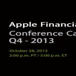Q4 2013 - Apple Bekanntgabe Quartalszahlen