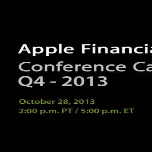 Q4 2013 – Apple Bekanntgabe Quartalszahlen