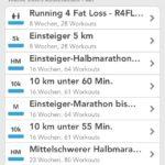 RunKeeper Workout