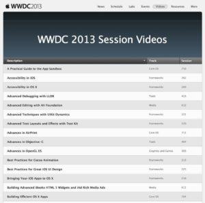 WWDC 2013 Session Videos