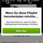 Spotify Playlisten