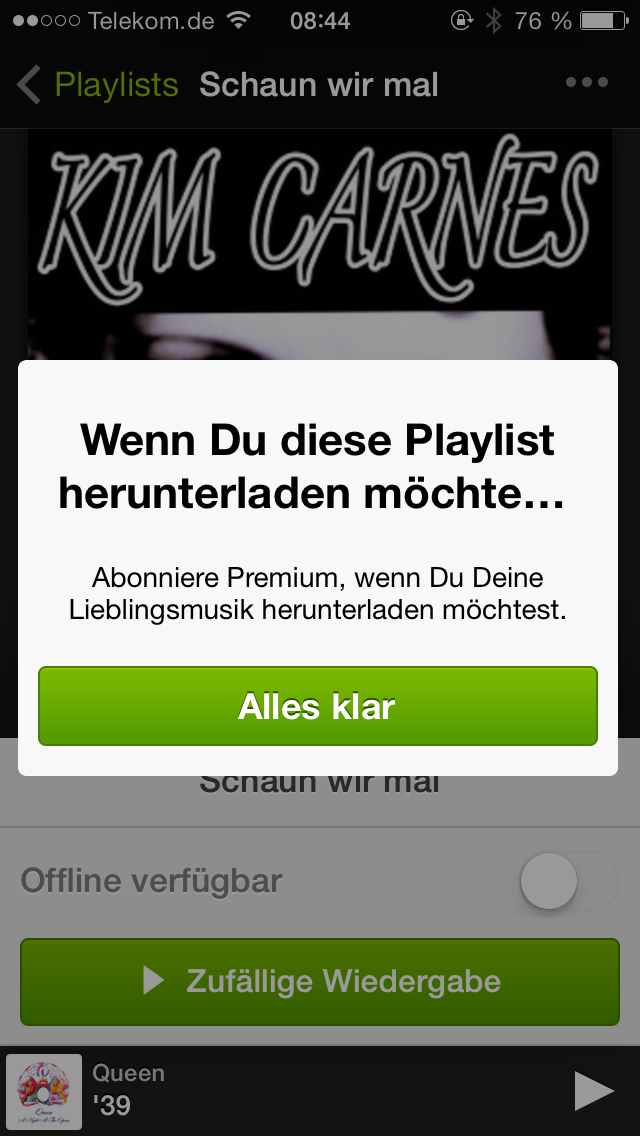 Spotify Playlisten