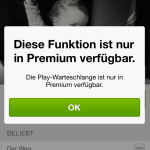 Spotify Warteschlange