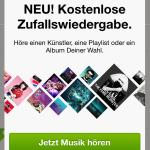 Spotify Zufallswiedergabe