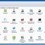 DiskStation: Systemsteuerung