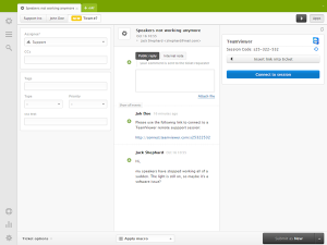 TeamViewer Zendesk Integration