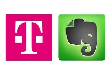 Telekom-Evernote Partnerschaft