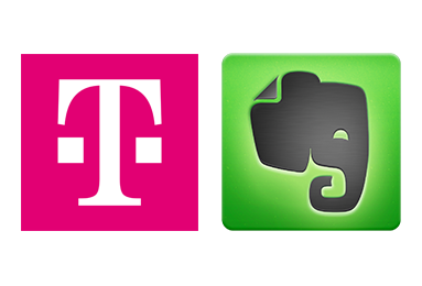 Telekom-Evernote Partnerschaft