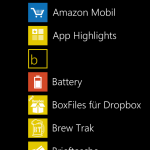 WP8 Apps
