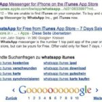 iPhone App Store: Wertet Google iTunes-Links ab?