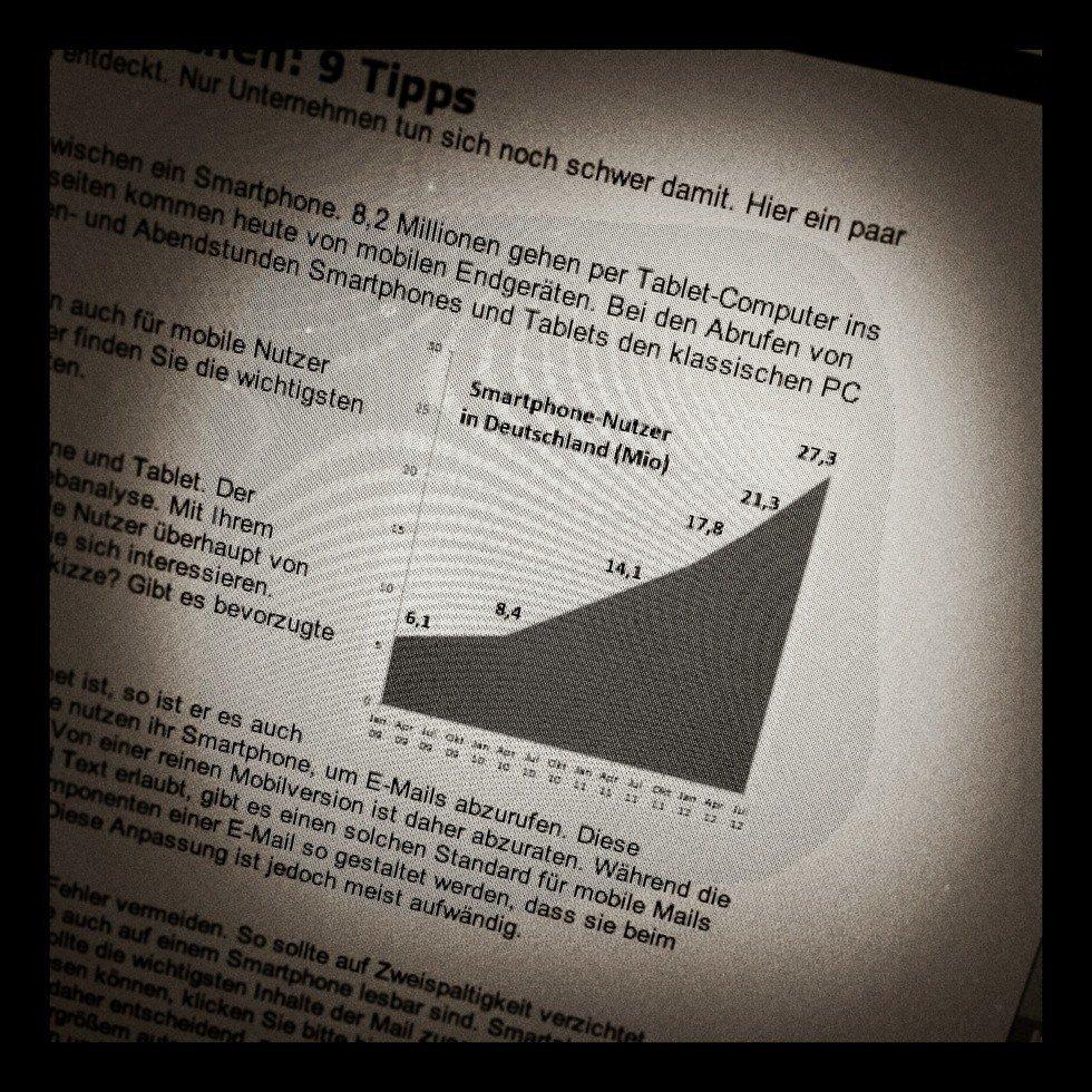 Foto vom Beitrag des Absolit-Blog zu 9 Tipps, um mobile Nutzer richtig anzusprechen