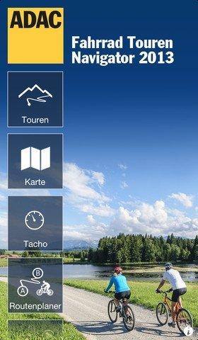 ADAC Fahrrad Touren Navigator 2013 für iPhone vorgestellt