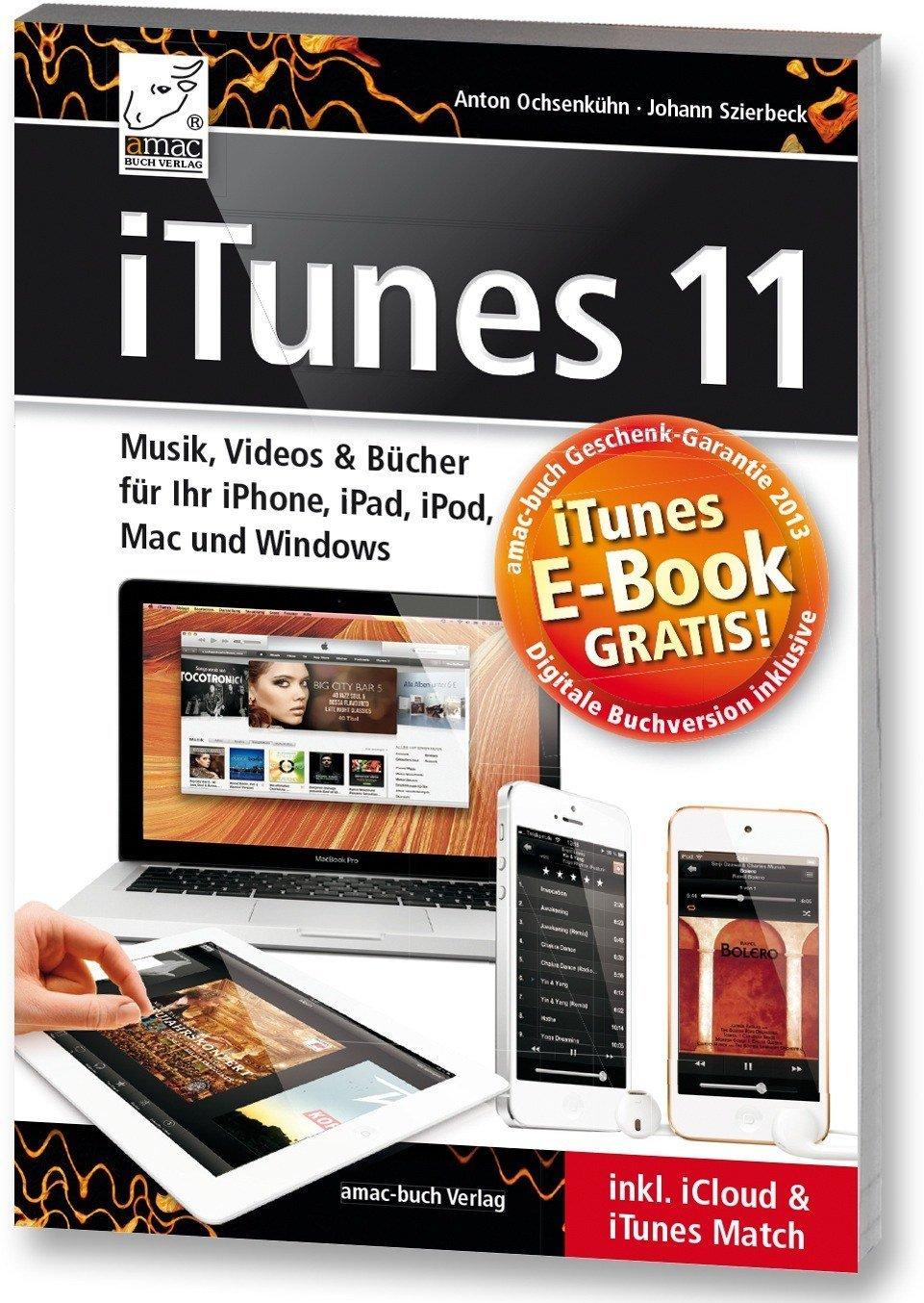 iTunes 11: interaktives Buch aus amac-buch Verlag für 99 Cent